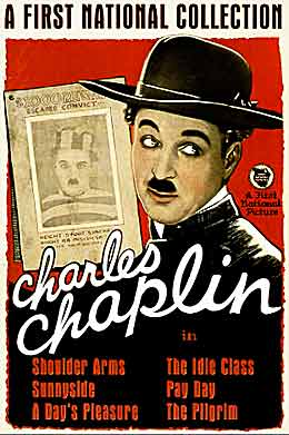 charilie chaplin first national collection poster 1923