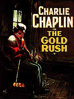 charlie chaplin gold rush 1925 poster