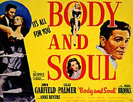 Body & Soul movie poster