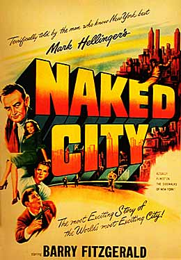 Naked City movie poster