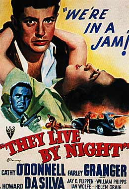 They Live by Night movie poster