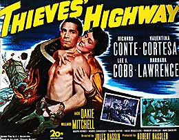 Thieves Highway movie poster