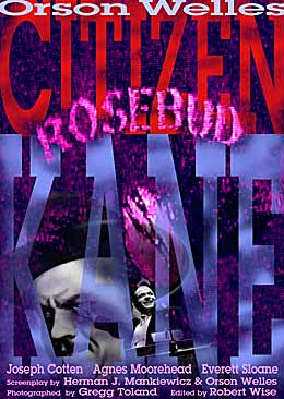 citizen kane original by Aliana & Sim�n Cherpitel movie poster