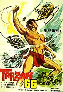 tarzan & the valley of gold 1966 movie poster