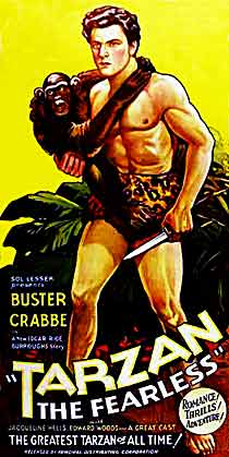 tarzan the fearless movie poster 1933